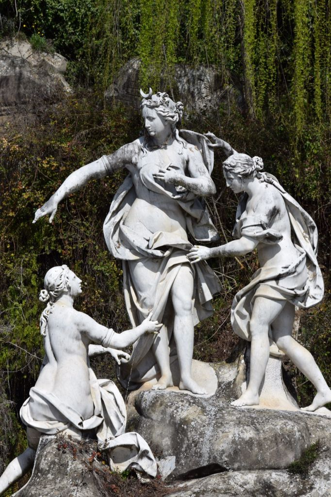 Particolare Fontana di Diana e Atteone - Parco regia di Caserta