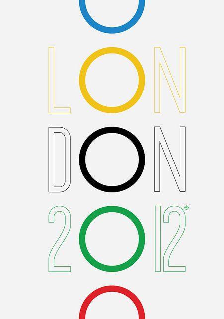 2012 London Olympics poster (unofficial art work) by Viktor Hertz, via Flickr