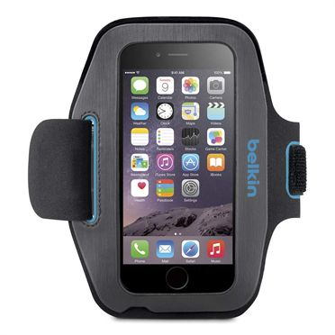 Sport-Fit Armband for iPhone 6 - Blacktop/Topaz -  HeroImage