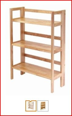 love that this bookcase folds and can be stacked i purchased a