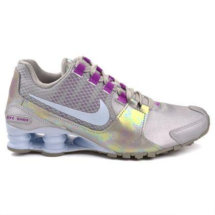 new style c02f6 31c15 ... Running Shoes  Tênis Nike Shox Avenue SE 844131-002 - Prateado Lilás