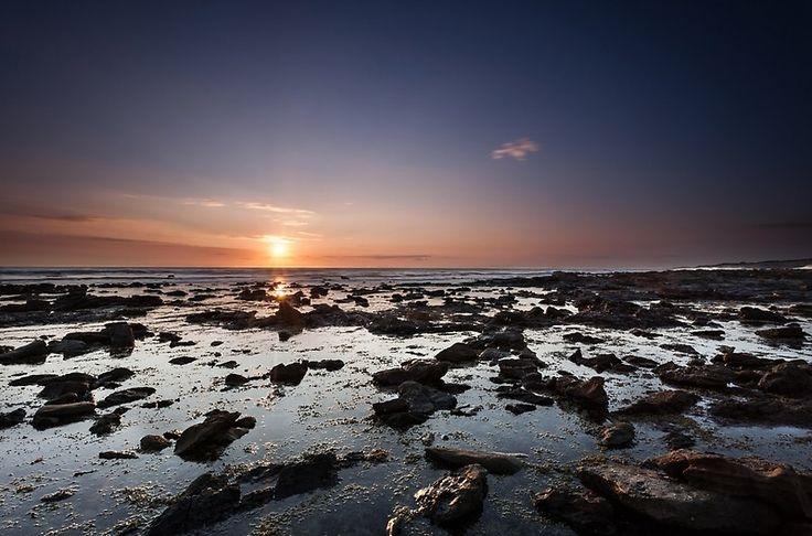 Cape Paterson sunset, beach, ocean, rocks, holiday, beautiful, destination
