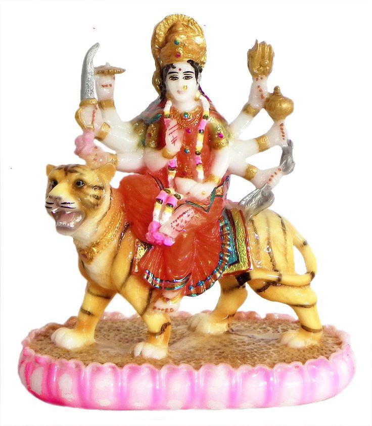 Sherawali Mata (Poly Resin)