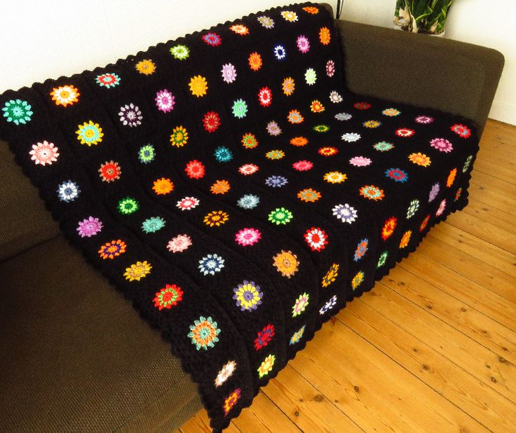 This colorful crochet afghan blanket has been handmade to highlight the love, care and personal touch you have put into designing your home to make it uniquely 'YOU'. Why not visit my Etsy store to see more of my colorful crochet creations.