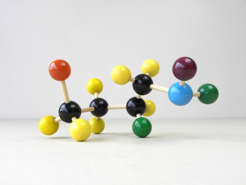 eclectic kids toys Colorful Molecular Model