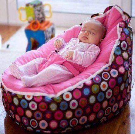O Lado de Cá: Puff conforto para o bebe