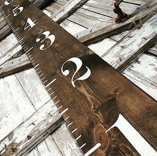 Wooden Growth Chart  Farmhouse Decor  Farmhouse by ThreeArrowsCo