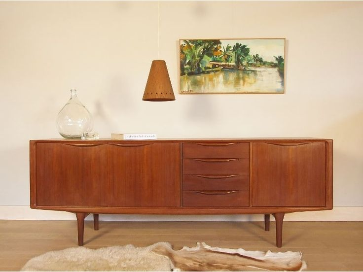 1000 ideas about enfilade scandinave on pinterest buffet moderne meuble e - Console vintage scandinave ...