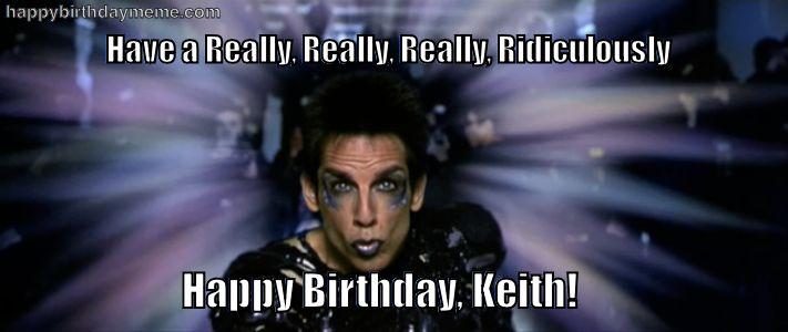 happy bday Keith