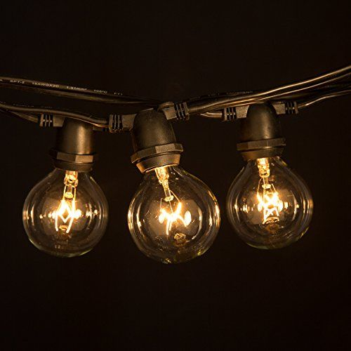27 best vintage outdoor bulb string lights images on pinterest jackyled outdoor string lights ul listed cord with sockets 21 incandescent bulbs spare edison vintage weatherproof connectable commercial grade patio porch mozeypictures Choice Image