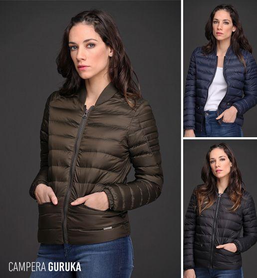 La Campera Guruka es calentita y liviana. De textura súper suave y estilo universitario, esta prenda sin duda va a completar a la perfección tus looks de invierno.