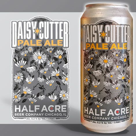 A great beer with a cool bit of art