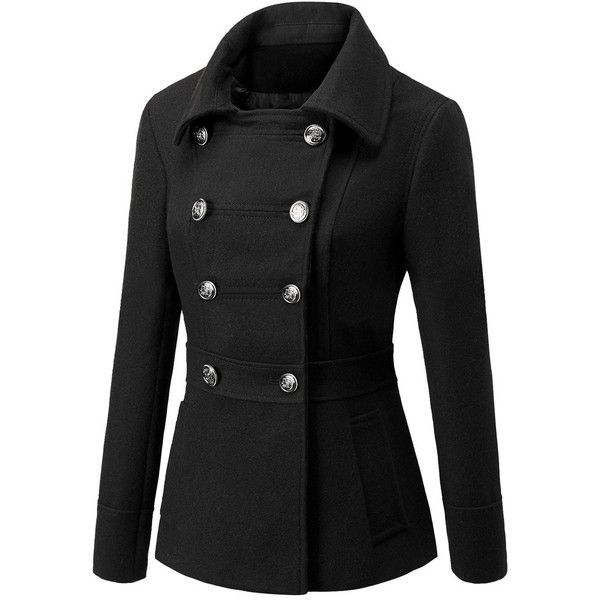 Best 25  Black wool coat ideas on Pinterest | Black winter coat ...
