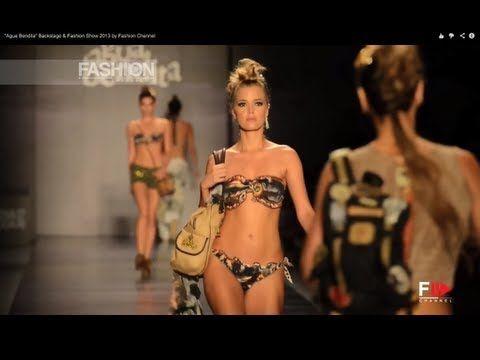 """Agua Bendita"" Backstage & Fashion Show 2013 by Fashion Channel - YouTube #"