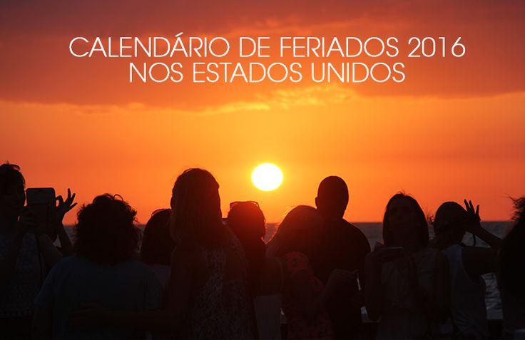 Calendário com os feriados 2016 nos Estados Unidos e eventos que podem impactar sua viagem.