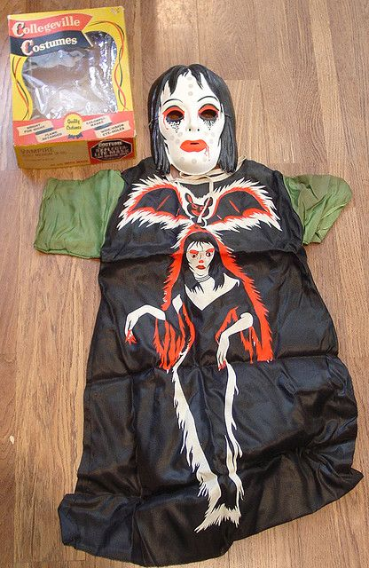 My costume for a couple of yrs best one I ever had and it glowed in the dark