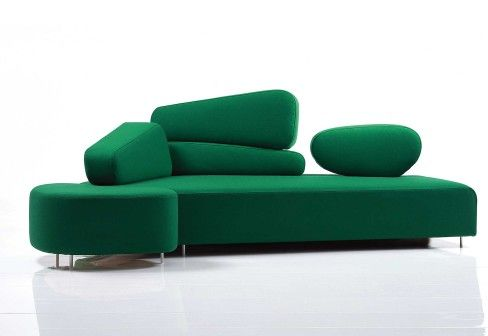 Mosspink sofa by Brühl - sofas - design at STYLEPARK
