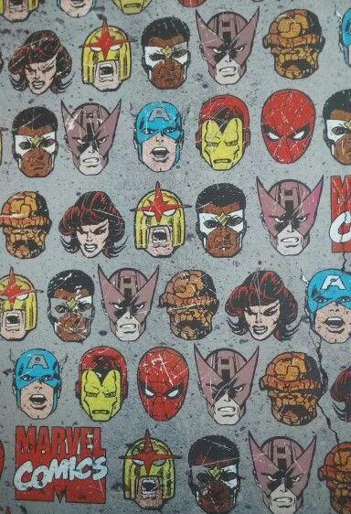Wallpaper background pattern marvel comics | Wallpaper ...