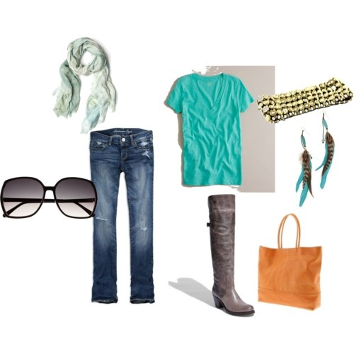 ideal spring casual outfit