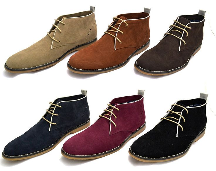 MENS VOEUT DESERT BOOT SMART CASUAL LACE UP SUEDE SHOES 6 7 8 9 10 11 DST101