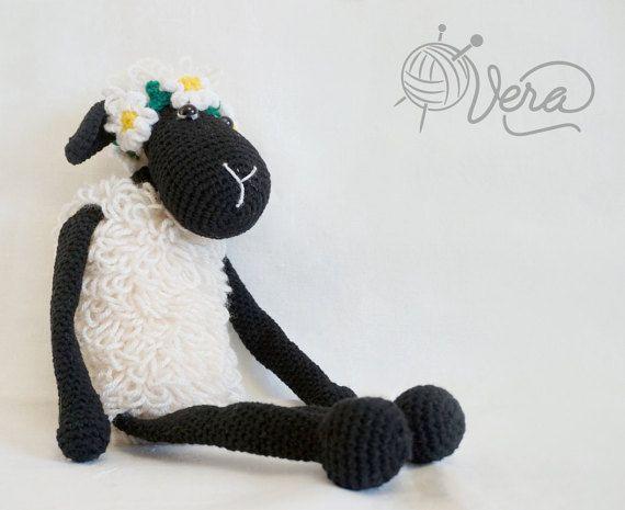 Amigurumi Sheep Doll : Crochet sheep, amigurumi lamb, stuffed toy lamb, amigurumi ...