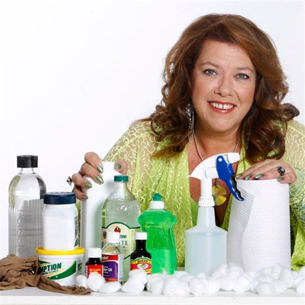 Discover Shannon Lushs nine laundry essentials, including white vinegar, bicarb sode and table salt.