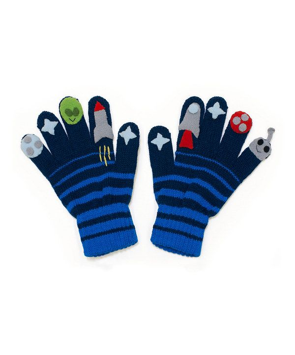Take a look at this Kidorable Blue Space Hero Gloves on zulily today!
