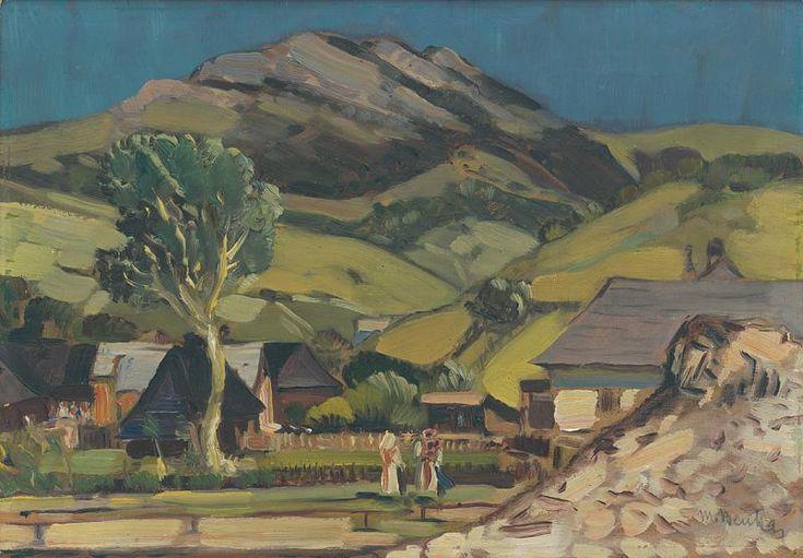 Martin Benka - Motív od Ľubochne, 1920-29