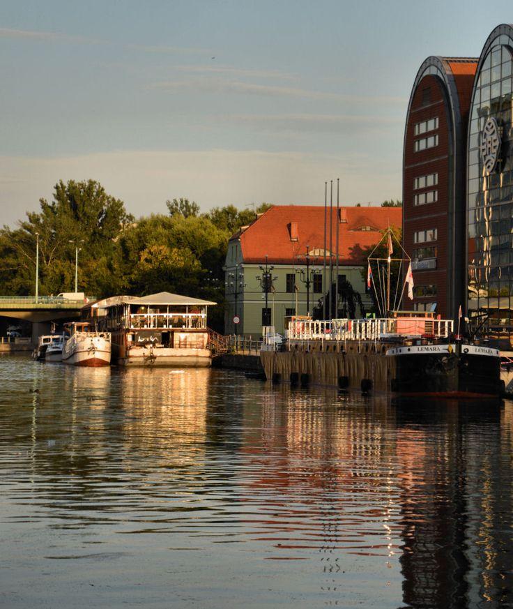 Sunset, Brda River, Bydgoszcz, Poland