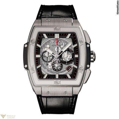 Hublot Chronograph Spirit of Bing Bang Titanium Men`s Watch Model No. 601.NX.0173.LR.1704