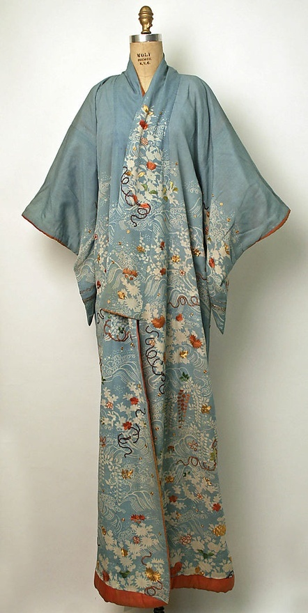vintage kimono robe.