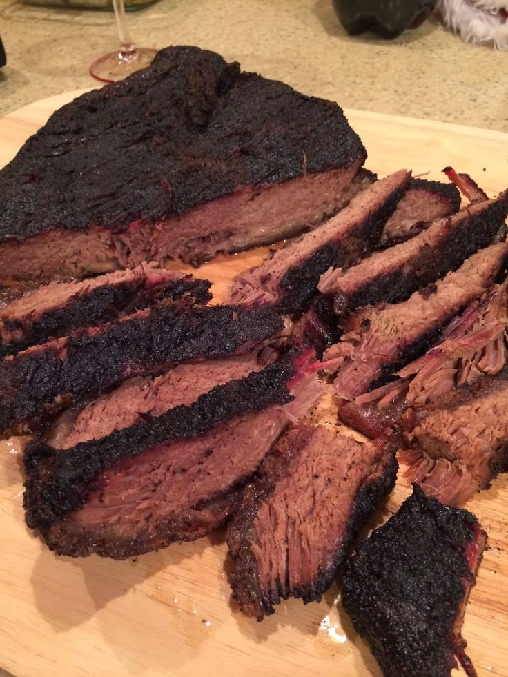Weekend Food Project: Beef Brisket on the Big Green Egg - Updated 2.0