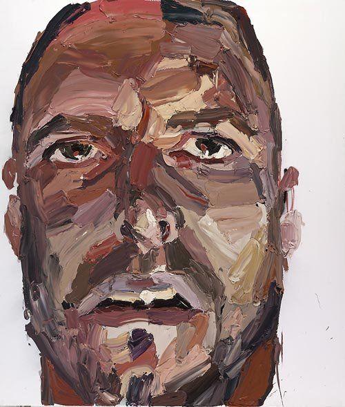 Ben Quilty Self portrait after Madrid