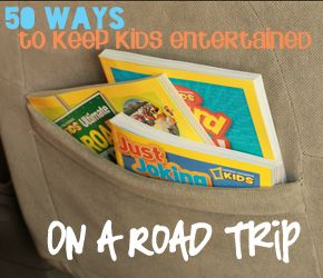 50+ Road Trip Entertainment Ideas for Kids #travel #roadtrip