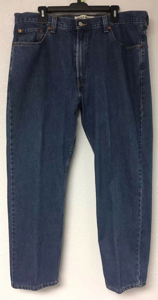 fb5593f794d LEVI S Mens 505 Regular Fit Straight Leg Blue Jeans Size 40 X 32.  fashion   clothing  shoes  accessories  mensclothing  jeans (ebay link)