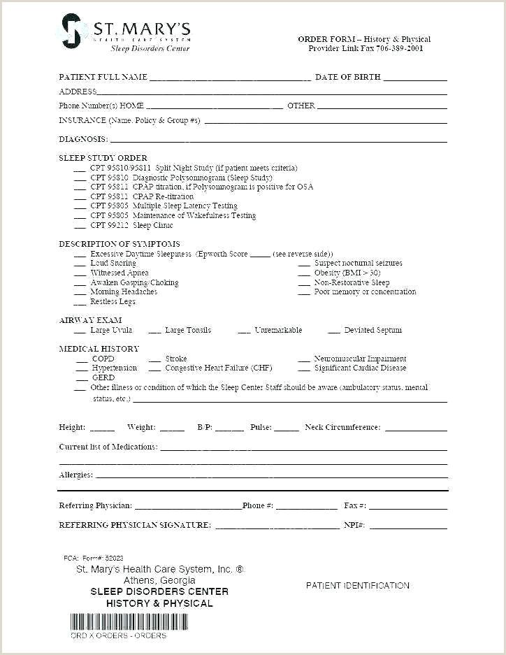 Physician Referral Form In 2020 Doctors Note Book Report