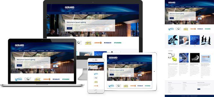 Website design by Forge Online using WordPress. http://www.forgeonline.co.nz/website-design/gerard-lighting/