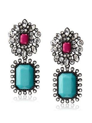 54% OFF Leslie Danzis Turquoise Fondant Earring