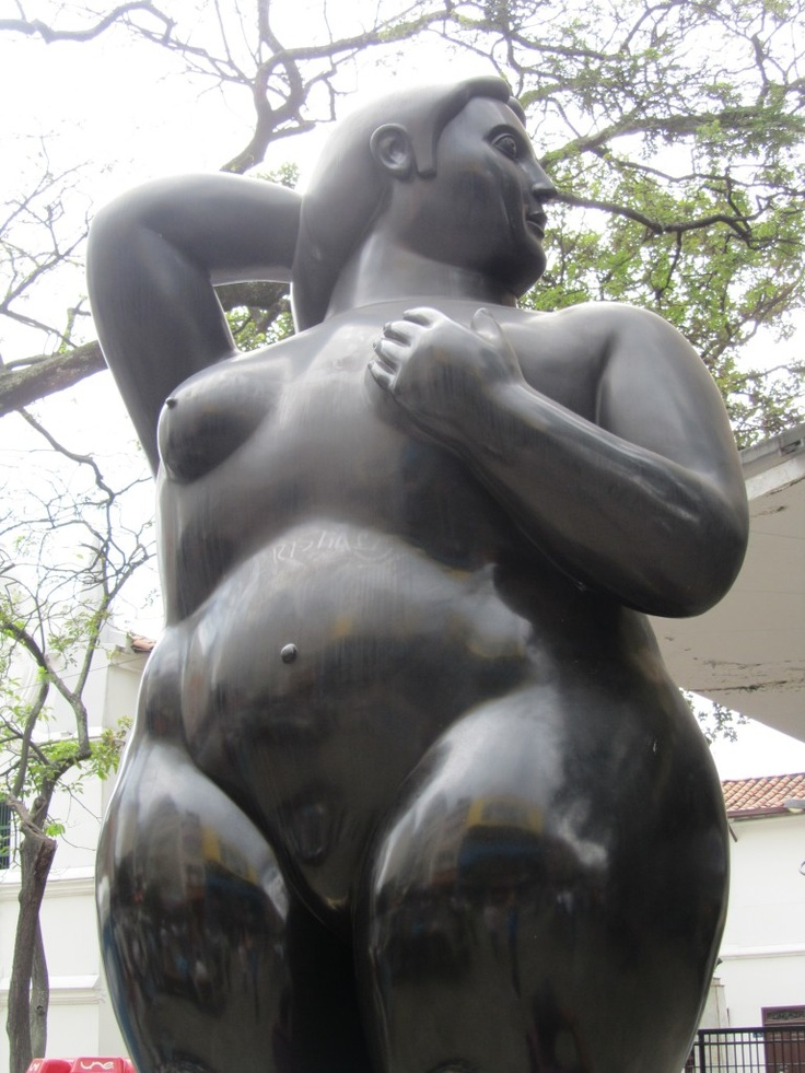 SCULPTURE IN PLAZA BOTERO - MEDELLIN  One of many