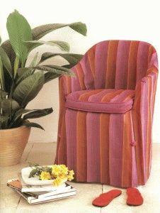 Cubiertas de almohadas y sillas - Funda para silla de jardín de plástico