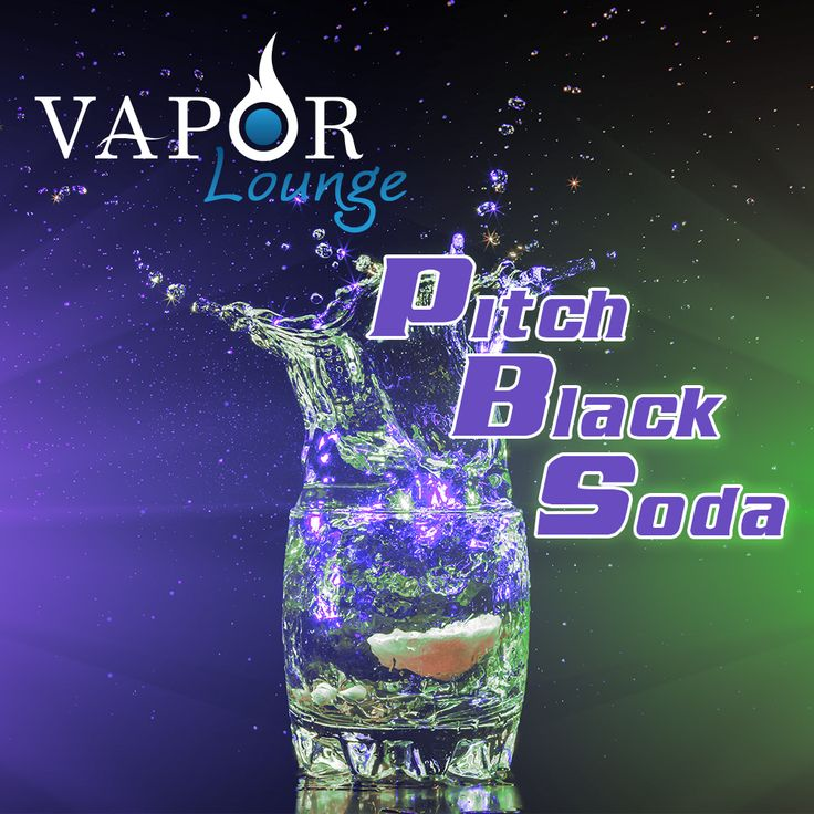 Get amped with our new Pitch Black Soda! Fizzy soda pop infused with grape extracts for a refreshing beverage to keep you fueled and focused! It's a grape vape!