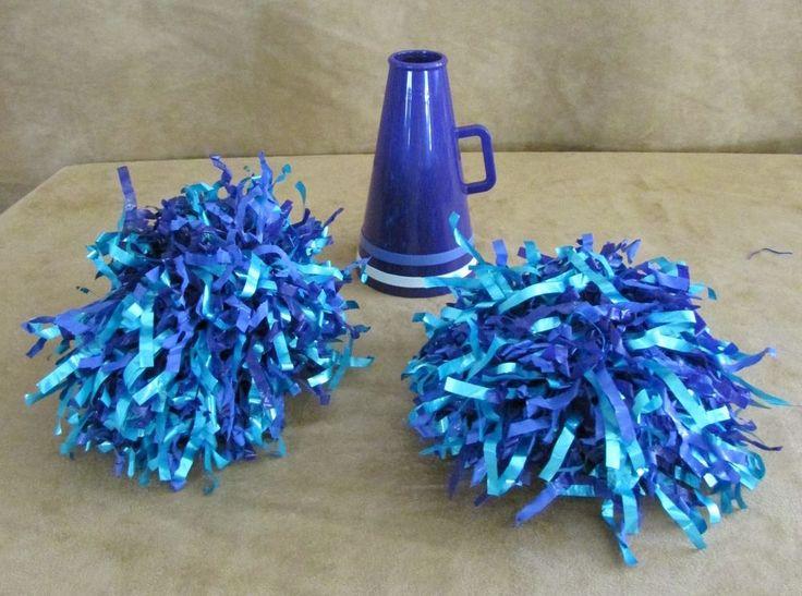 American Girl Purple Cheerleader of Today doll pompom megaphone Cheerleading  #Accessories