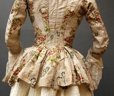 just lovely!  French jacket circa 1790