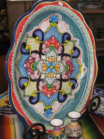 Talavera plate. Pretty
