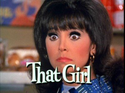 That Girl is an American sitcom that ran on ABC from 1966 to 1971. It stars Marlo Thomas as the title character, Ann Marie, an aspiring (but only sporadically employed) actress. NOTICE: the flip hair style I LOVE ♥
