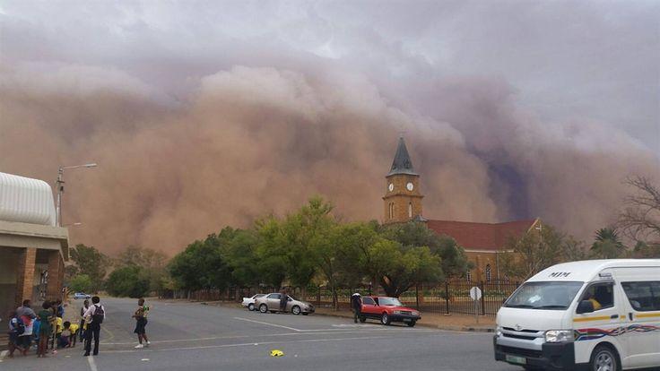 Silostrat, 'n onderneming in Welkom, het die foto's wat in Hoopstad geneem is met Storm Report gedeel.