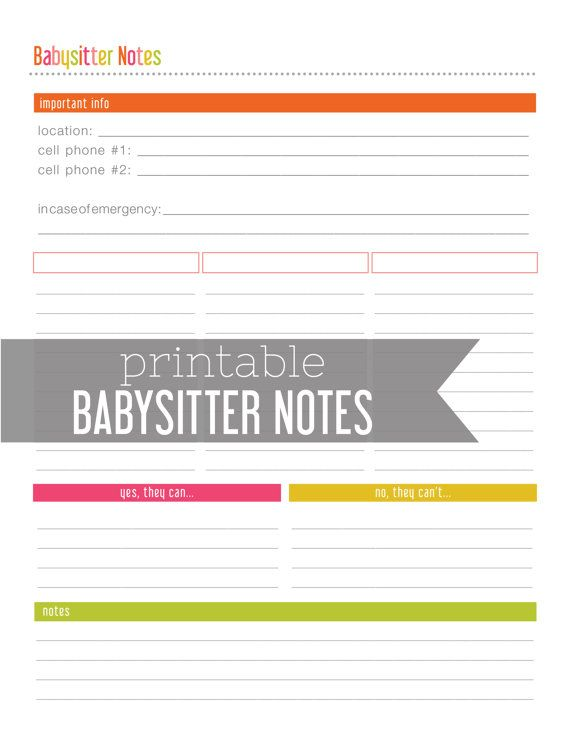 79 best Organization Printables images on Pinterest Boutique - bills to pay template