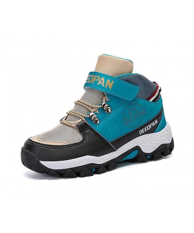 Kids Hiking Shoes Anti-Slip Trail Trekking Outdoor Adventure Boots - Blue -  CL18HQDYU2M | Fashion kids shoes, Adventure boots, Boots