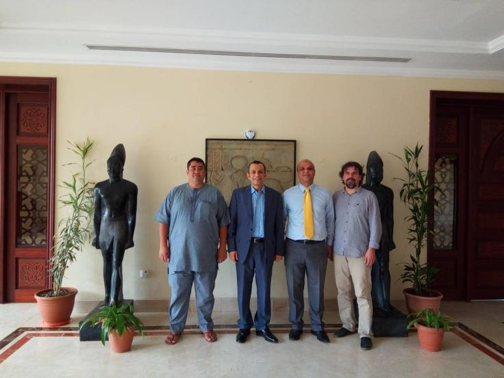 Organizing Committees ICSSL- AFRICA 2017, ETF 2017 were at the Egyptian Embassy. A Plaque of Appreciation was given to the  Ambassador of Arabic Republic of Egypt, Assem Hanafy Elseify on behalf of the organizers for his contribution to the 3rd International Conference on Social Science and Law 2017 & 2nd Entrepreneurship Trade Fair 2017