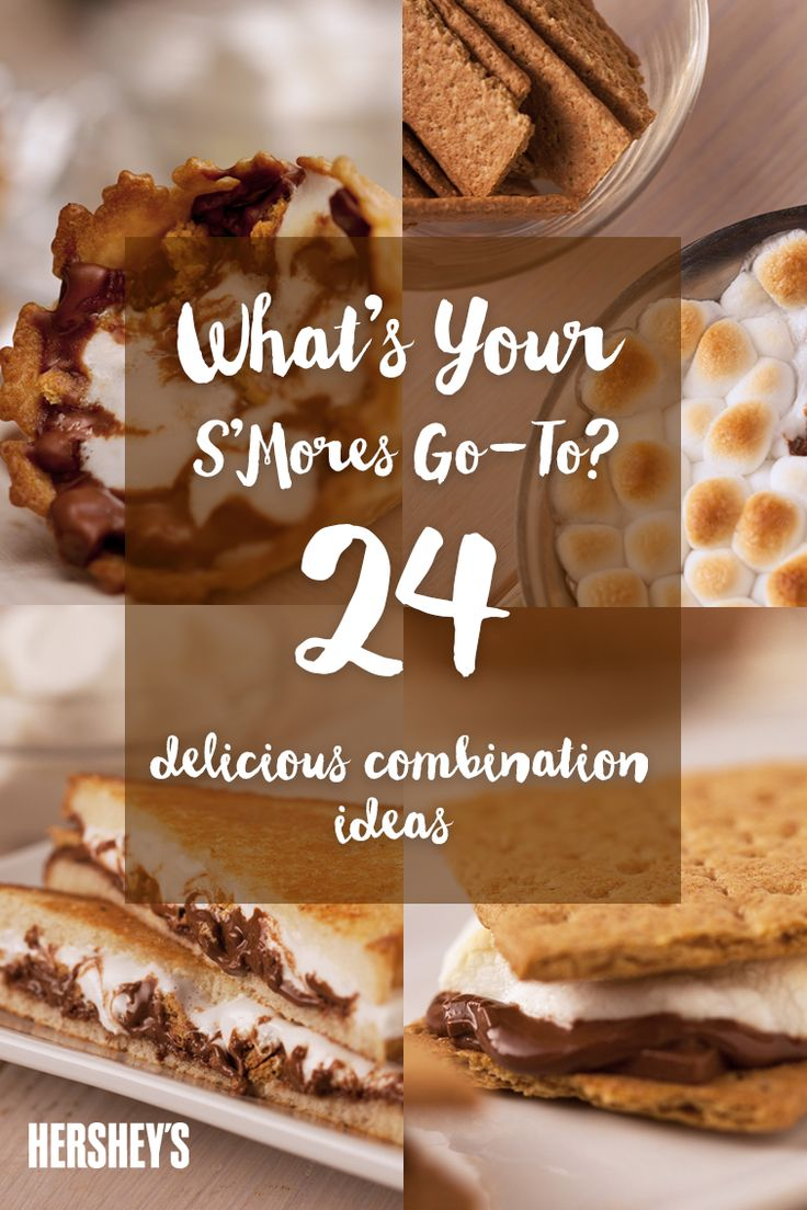 17 best Fall/Winter S'mores images on Pinterest | Hershey recipes ...
